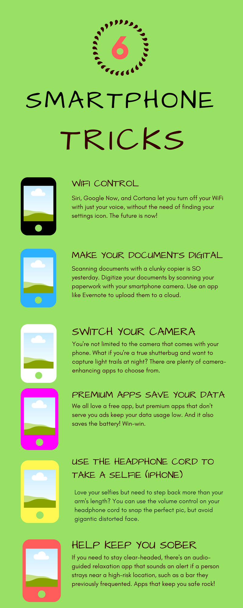 Smartphone tricks