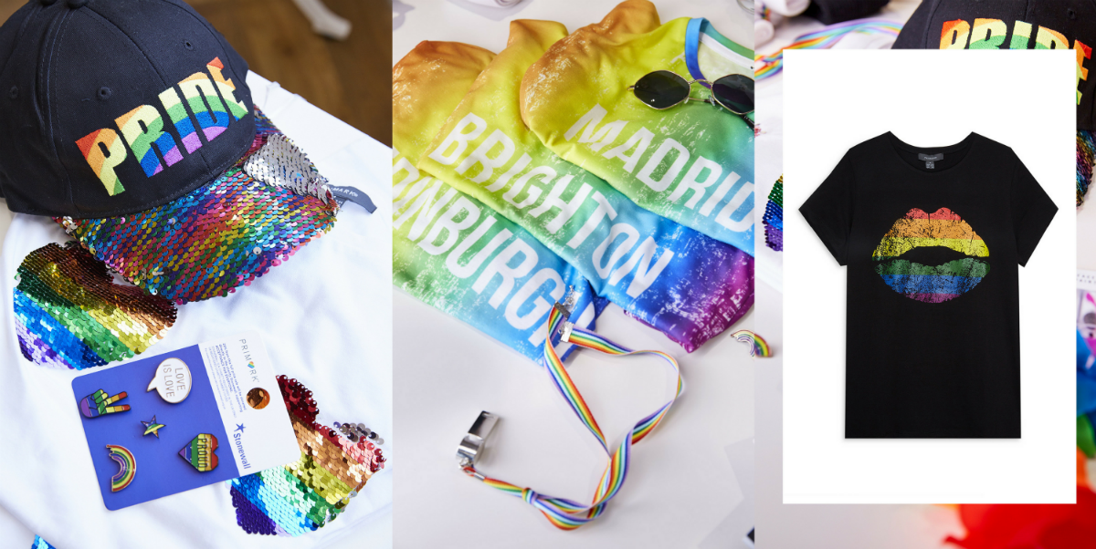 Pride Month Fashion Items Grapevine