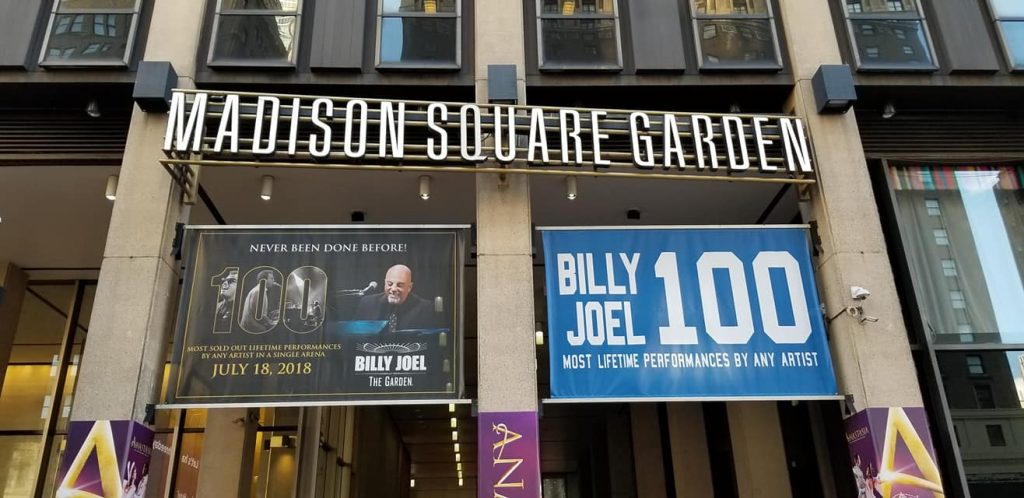 holly zink billy joel 100 madison square garden