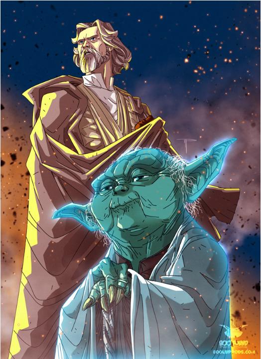 Yoda and Obi Wan Kenobi